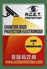chantier sous protection électronique