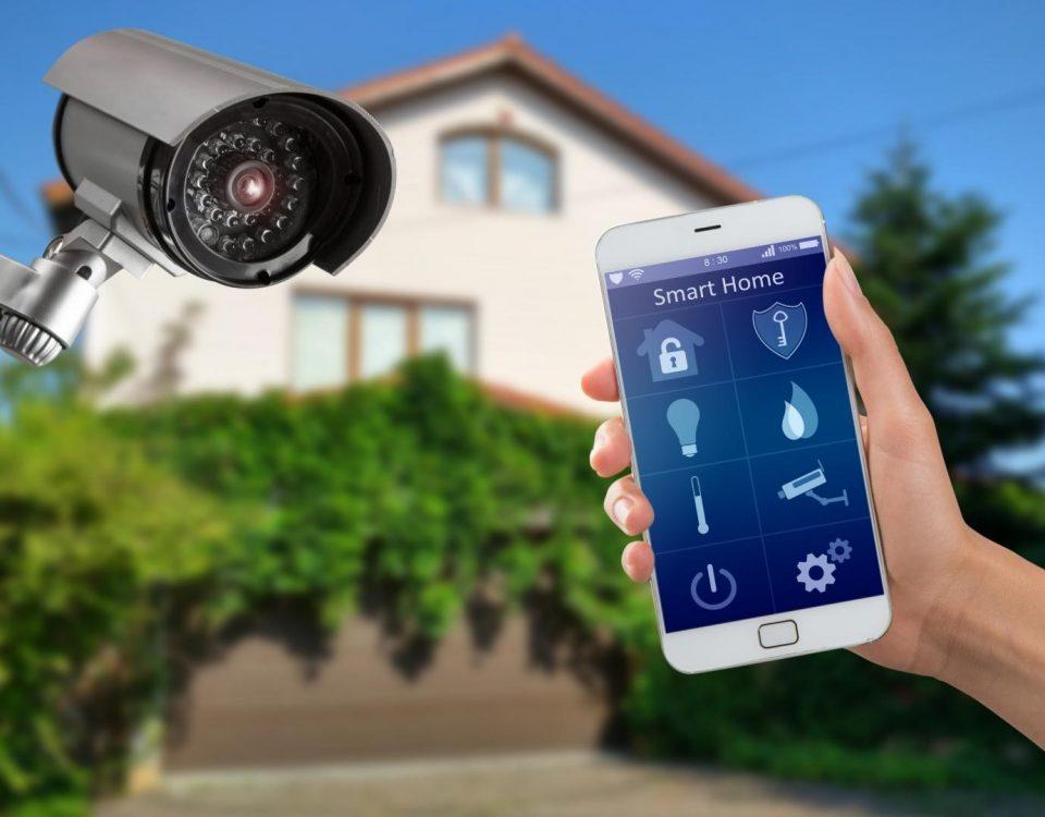 commande camera de surveillance