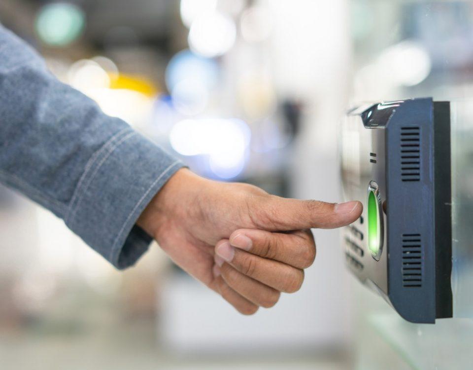 controle accès biométrique