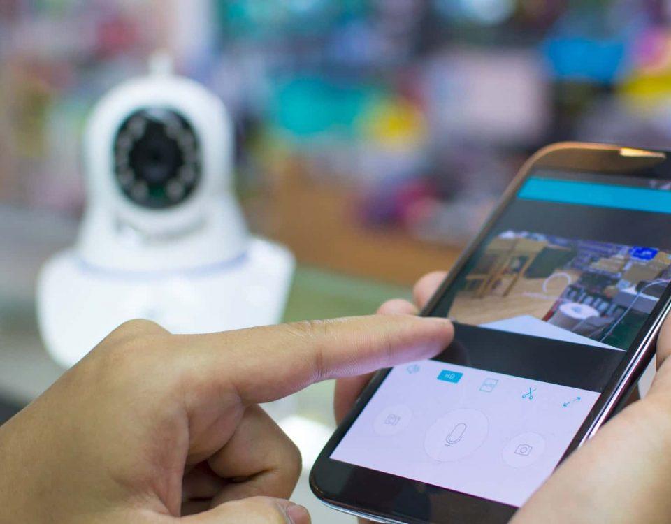 caméra de surveillance connectés